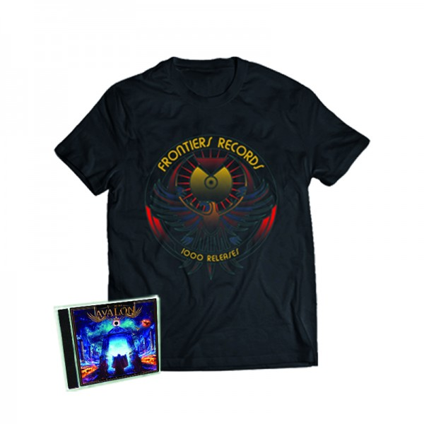 """1000 Releases"" T-Shirt + TIMO TOLKKI'S AVALON - Return to Eden - CD - Ltd.Bundle T-shirt S-XL"
