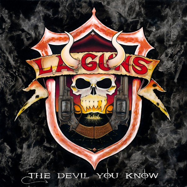L.A. GUNS - The Devil You Know - CD Jewelcase
