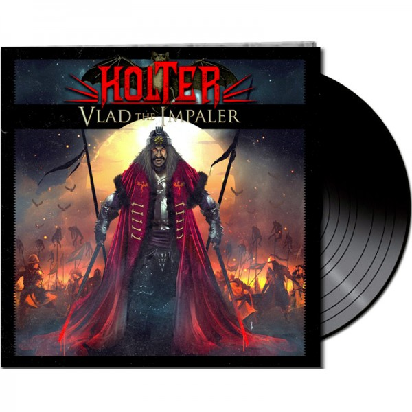 HOLTER - Vlad The Impaler - LTD Gatefold BLACK Vinyl, 180 Gram