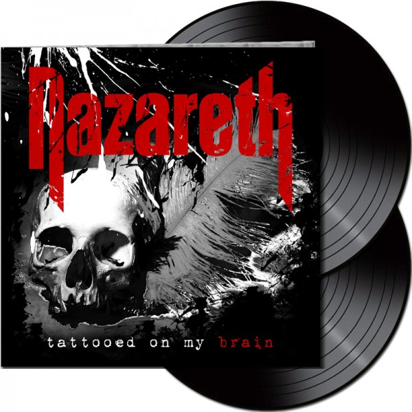 NAZARETH - Tattooed On My Brain - LTD Gatefold Black 2-LP, 180g