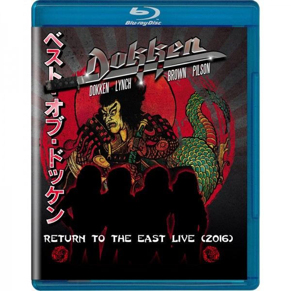 DOKKEN - Return To The East Live 2016 - Blu-Ray