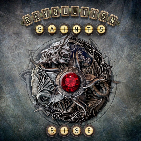 REVOLUTION SAINTS - Rise - CD Jewelcase