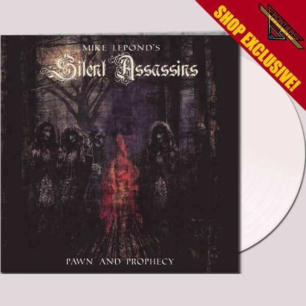 MIKE LEPOND'S SILENT ASSASSINS - Pawn And Prophecy - LTD Gatefold WHITE LP, 180gr - SHOP EXCLUSIVE