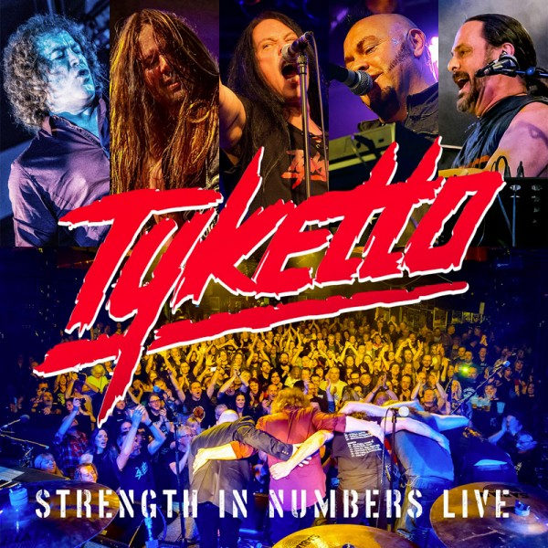 TYKETTO - Strength in Numbers Live - CD Jewelcase