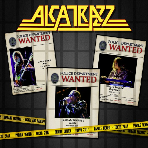 ALCATRAZZ - Parole Denied – Tokyo 2017 - 2CD+DVD Digipack