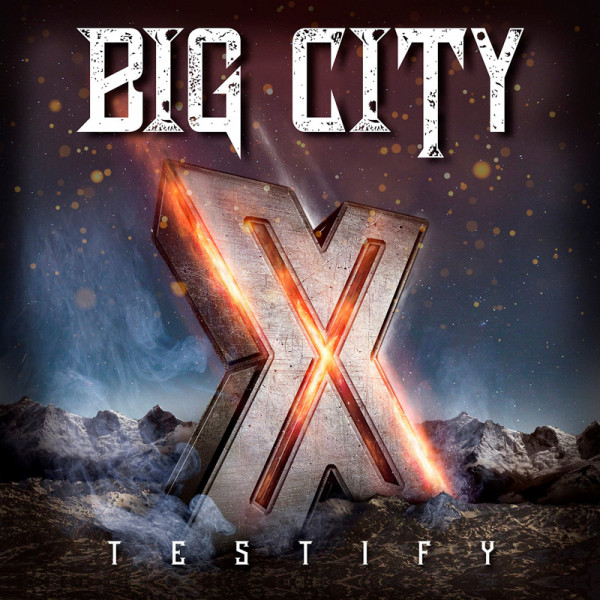 BIG CITY - Testify X - CD Jewelcase