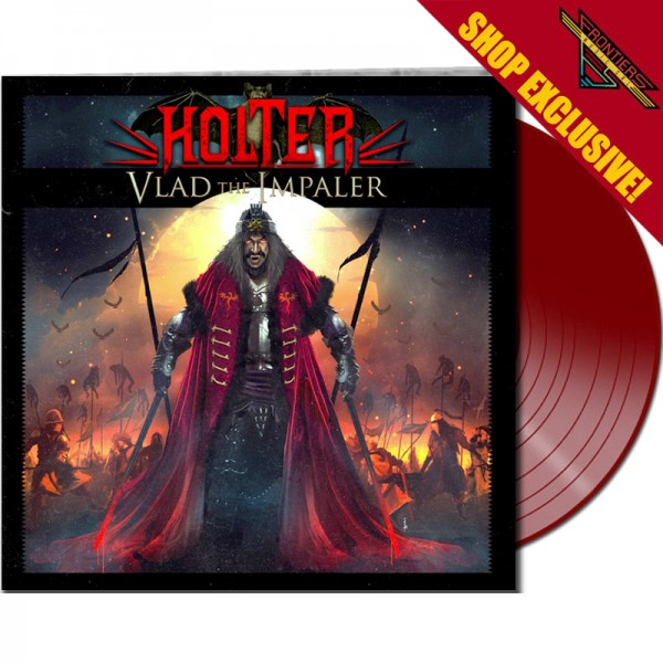 HOLTER - Vlad The Impaler - LTD Gatefold RED Vinyl, 180 Gram - Shop Exclusive !