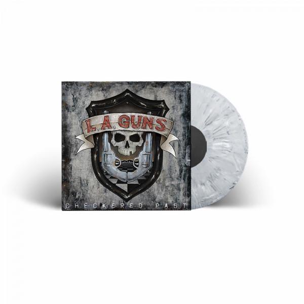 L.A. GUNS - Checkered Past - Ltd. Gatefold MARBLE LP