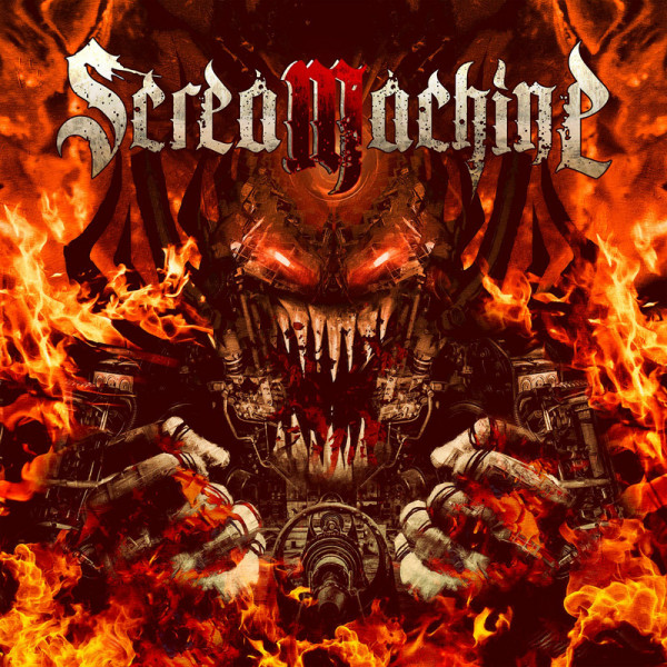 SCREAMACHINE - Screamachine - CD Jewelcase