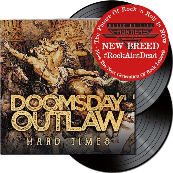 DOOMSDAY OUTLAW - Hard Times - LTD Gatefold Black 2 Vinyl, 180 Gram *NEW BREED*