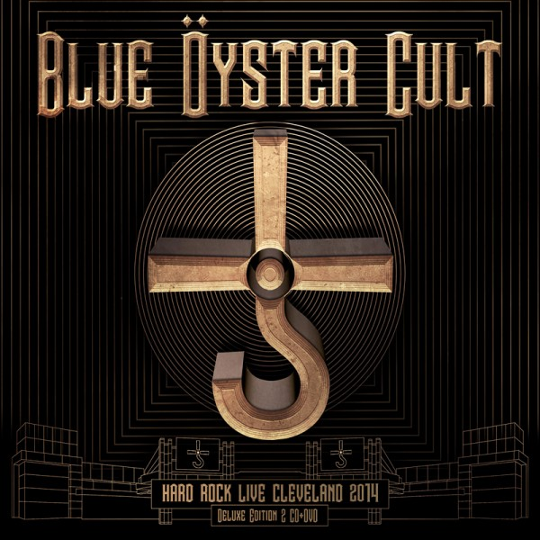 BLUE ÖYSTER CULT - Hard Rock Live Cleveland 2014 - 2CD+DVD Digipack