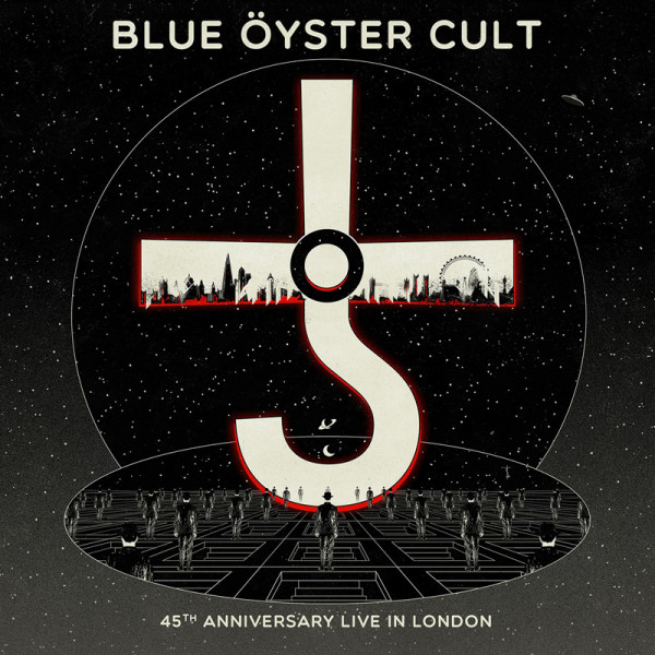 BLUE OYSTER CULT - 45th Anniversary - Live In London - CD+DVD Jewelcase