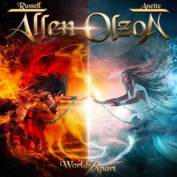 ALLEN / OLZON - Worlds Apart - CD Jewelcase
