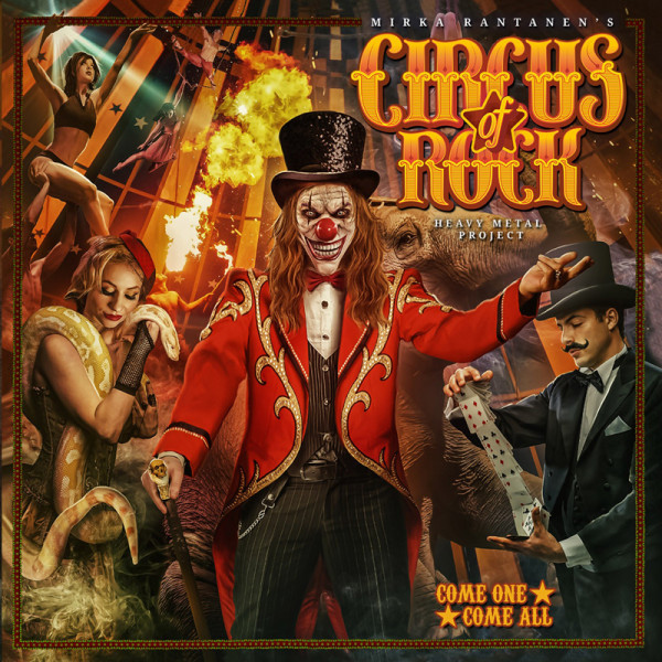 CIRCUS OF ROCK - Come One, Come All - CD Jewelcase