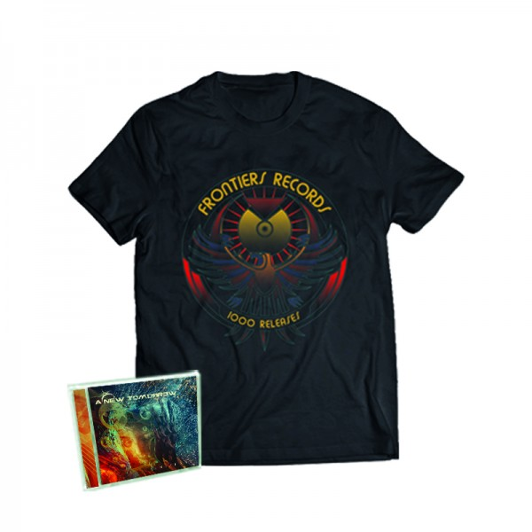 """1000 Releases"" T-Shirt + A NEW TOMORROW - Universe - CD - Ltd.Bundle T-shirt S-XL"