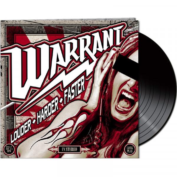 WARRANT - Louder Harder Faster - LTD. Gatefold/Black Vinyl/180 Gramm