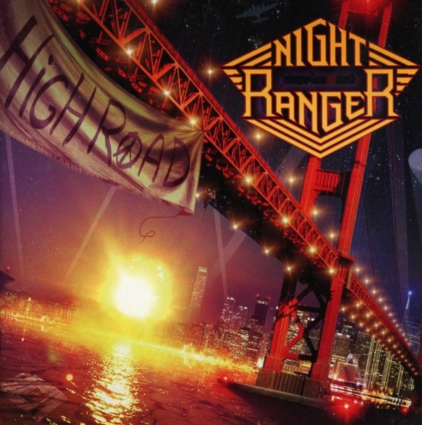 NIGHT RANGER - High Road - CD Jewelcase