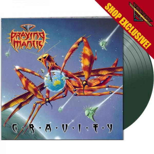 PRAYING MANTIS - Gravity - LTD Gatefold GREEN Vinyl, 180 Gram - SHOP EXCLUSIVE!