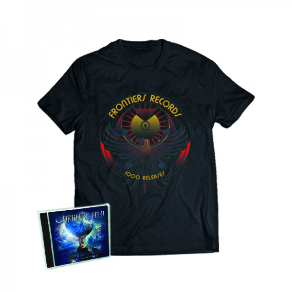 """1000 Releases"" T-Shirt + UNRULY CHILD - Big Blue World - CD - Ltd.Bundle T-shirt S-XL"