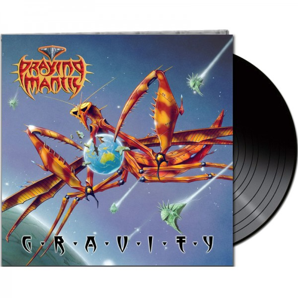 PRAYING MANTIS - Gravity - LTD Gatefold Black Vinyl, 180 Gram