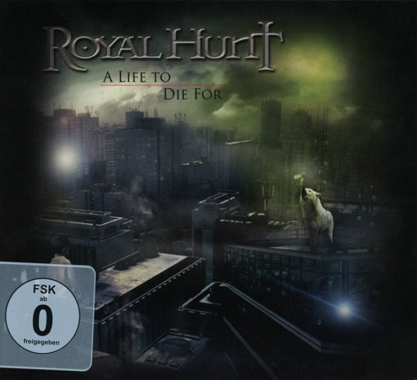 ROYAL HUNT - A Life To Die For - CD+DVD