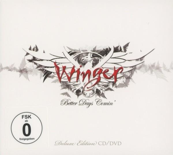 Winger - Better Days Comin (Ltd.Digipak+DVD)