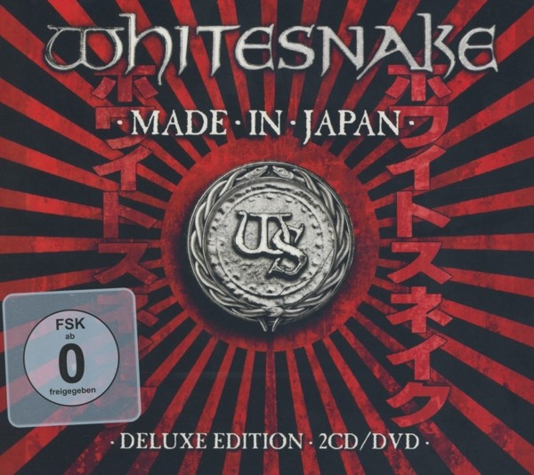 Whitesnake - Made In Japan (2CD+DVD Deluxe Edition)