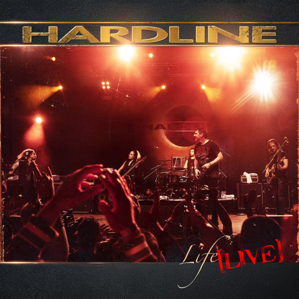 HARDLINE - Life Live - CD+DVD Jewelcase