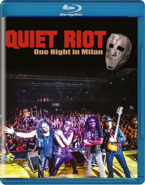 QUIET RIOT - One Night In Milan - Blu-Ray