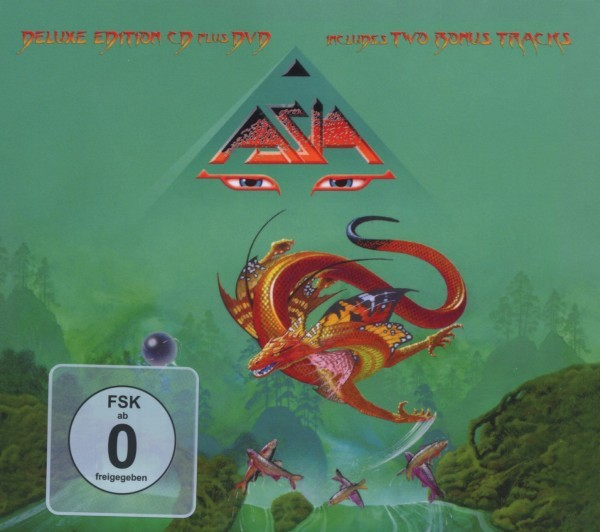 Asia - XXX (Ltd.Digipak+DVD)