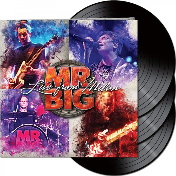 MR. BIG - Live From Milan - Ltd. Gatefold 3-LP Black Vinyl 180 Gram