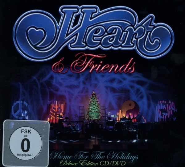 Heart - Heart & Friends-Home For The Holidays (Digipak)