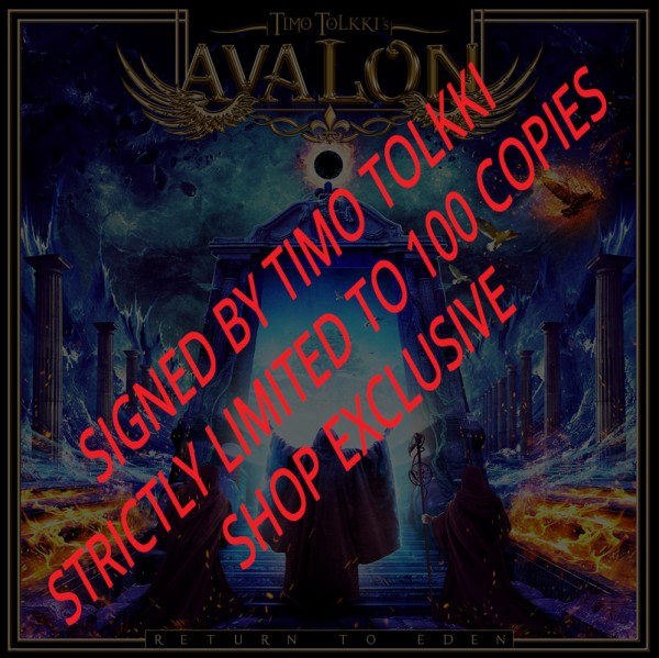TIMO TOLKKI'S AVALON - Return to Eden - CD Jewelcase - LTD. SIGNED EDITION - SHOP EXCLUSIVE!