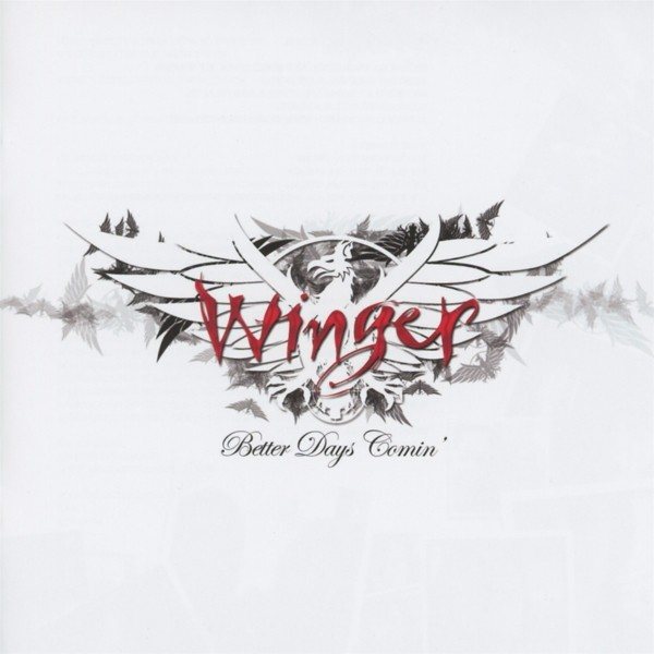 WINGER - Better Days Comin - CD Jewelcase
