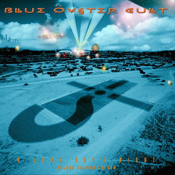 BLUE OYSTER CULT - A Long Day's Night - CD+DVD Jewelcase