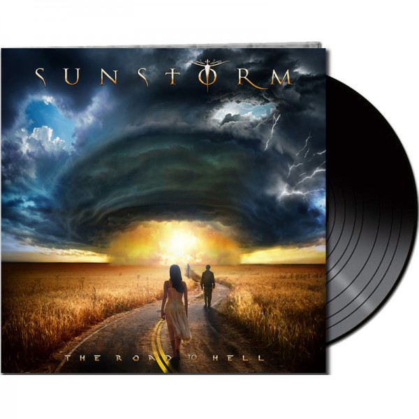 SUNSTORM - The Road To Hell - LTD Gatefold Black Vinyl, 180 Gram