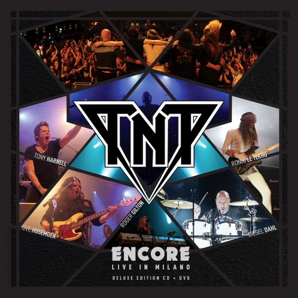 TNT - Encore: Live In Milano - CD+DVD-Jewelcase
