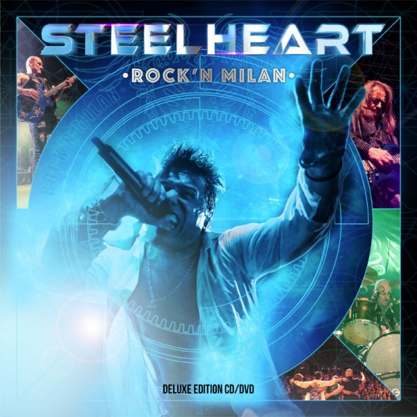 STEELHEART - Rock'n Milan - CD+DVD Jewelcase
