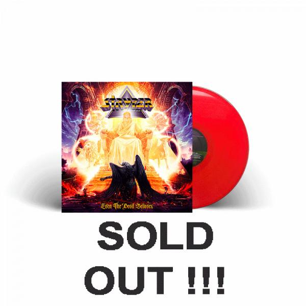 STRYPER - Even The Devil Believes - Ltd. Gatefold RED Vinyl, 180g - Shop Exclusive !