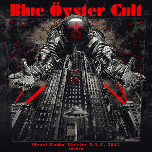 BLUE OYSTER CULT - iHeart Radio Theater N.Y.C. 2012 - CD+DVD Jewelcase