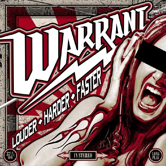 WARRANT - Louder Harder Faster - LTD. Gatefold/Red Vinyl/180 Gramm