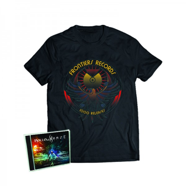 """1000 Releases"" T-Shirt + HOLLOW HAZE - Between Wild Landscapes... - CD - Ltd.Bundle T-shirt S-XL"