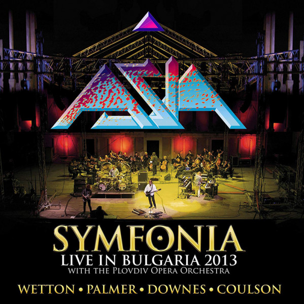 Asia - Symfonia-Live In Bulgaria 2013 (2CD+DVD Digipak)