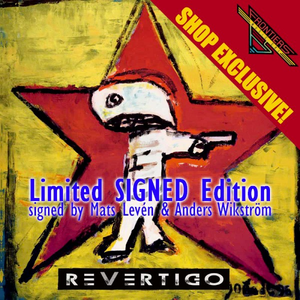REVERTIGO - Revertigo - CD Jewelcase - SIGNED - SHOP EXCLUSIVE!