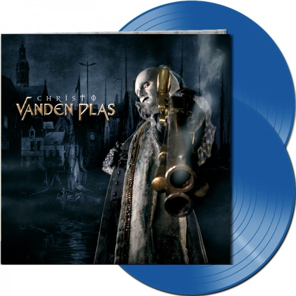 VANDEN PLAS - Christ 0 - LTD Gatefold BLUE 2-Vinyl, 180 Gram