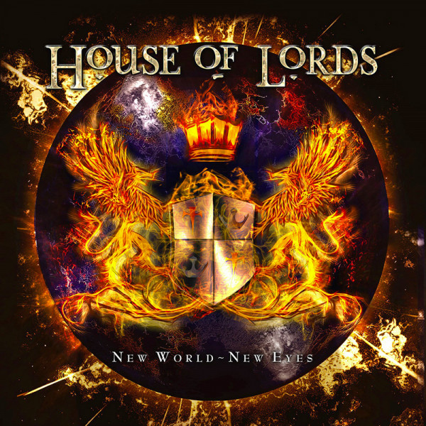HOUSE OF LORDS - New World - New Eyes - CD Jewelcase