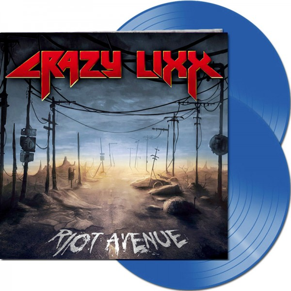 CRAZY LIXX - Riot Avenue (Re-Release) - LTD Gatefold BLUE 2-LP, 180g