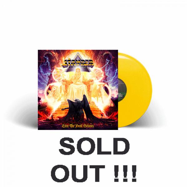 STRYPER - Even The Devil Believes - Ltd. Gatefold YELLOW Vinyl, 180g - Shop Exclusive !
