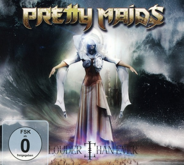 PRETTY MAIDS - Louder Than Ever - CD+DVD