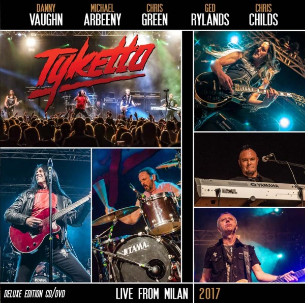 TYKETTO - Live From Milan 2017 - Ltd.Gatefold Black Vinyl